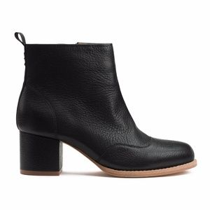 Shoes - Bill Blass Leather Bootie