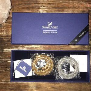 Swarovski exclusive edition wrap bracelets