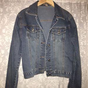 Denim jacket• size large