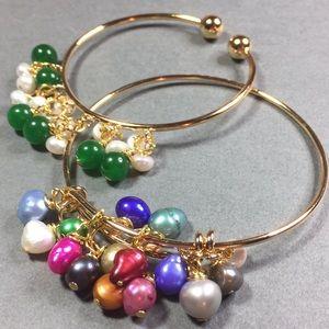 Jewelry - Custom made bracelets w Genuine Gemstones