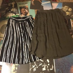 **BUNDLE** Forever 21 Shift Skirts NWOT