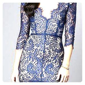 Lace dress 💙 navy blue
