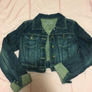 Forever 21 Cropped Denim Jacket