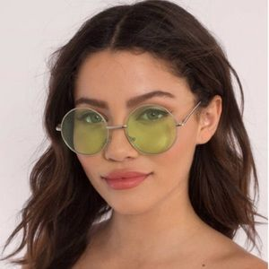 UO Round Green Glasses