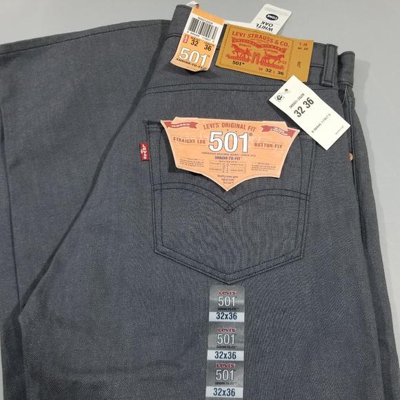29b76908 Levi's Jeans | Levis 501 White Oak Cone Denim Straight Leg 32x36 ...