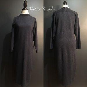 Vintage St. John Sweater Dress