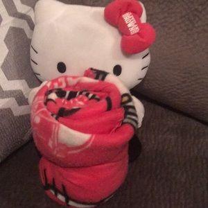 Hello Kitty throw
