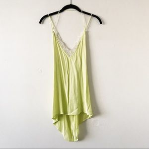 Urban Outfitters Neon Yellow Cami