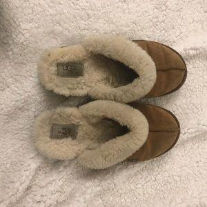 Ugg Slippers in Chestnut