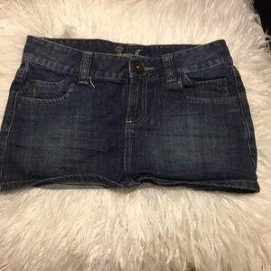 Guess Jeans Denim blue jean mini skirt 24 x 10