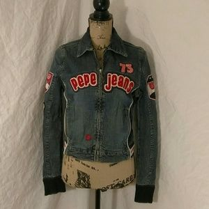 80s vintage Pepe Jean Jacket