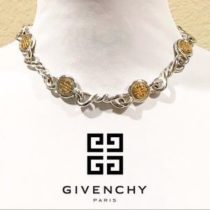 Givenchy Vintage Coin Choker Necklace