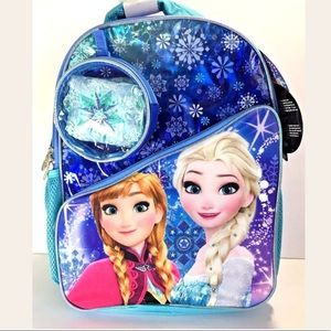 Frozen Backpack with Cape