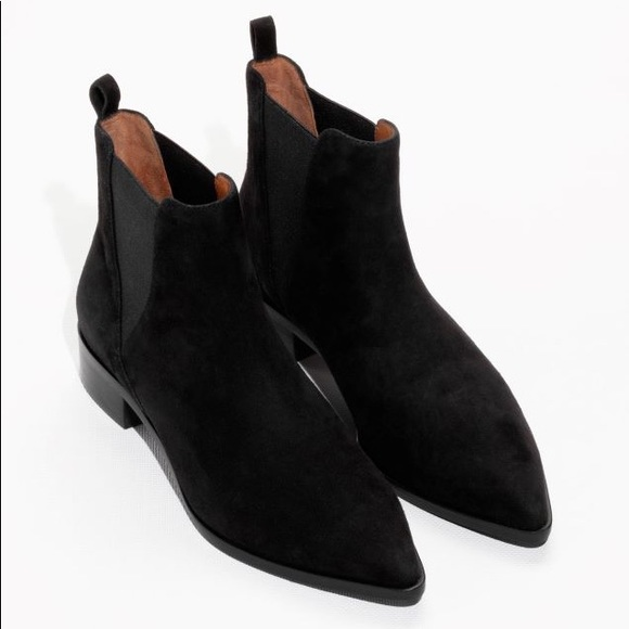 e1e2c6613 & Other Stories Shoes | Other Stories Suede Ankle Boots | Poshmark