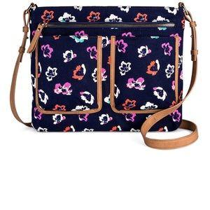 Merona Floral Crossbody Bag