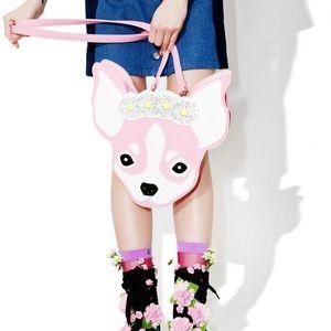 Handbags - Chihuahua crossbody & backpack combo bag