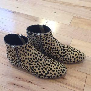 Loeffler Randall cheetah booties
