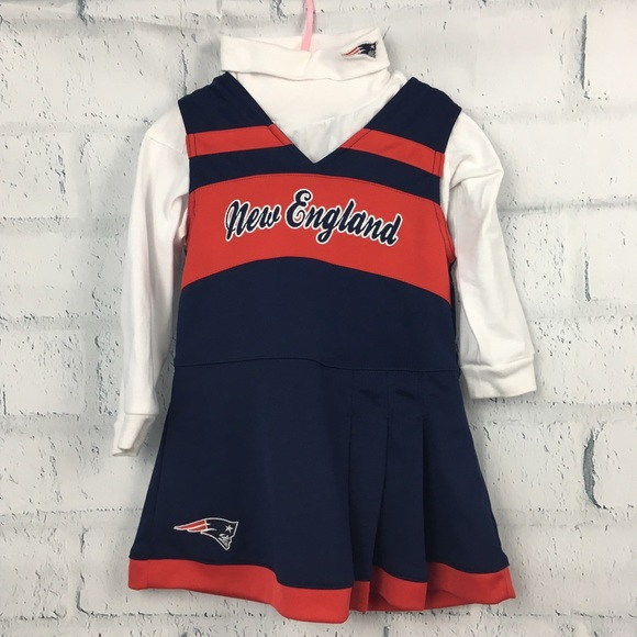 0bc031d5 New England Patriots shirt and dress Set Size 3T. M_5a2d360db4188eabad054236