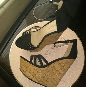 Just Fab Wedges 8.5