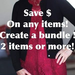 Other - Create a bundle of at least 2 items to save