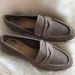 Vince Camuto Gray Loafers Mules
