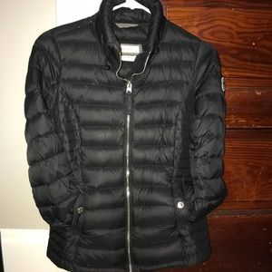 Abercrombie & Fitch down mock puffer
