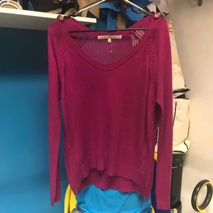 Rachel Roy fuchsia Sweater