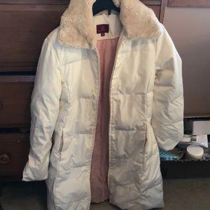 Cole Haan parka winter coat size medium