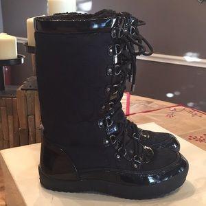 Authentic Coach Peggey signature snow boots