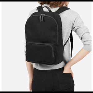 Everlane modern zip backpack