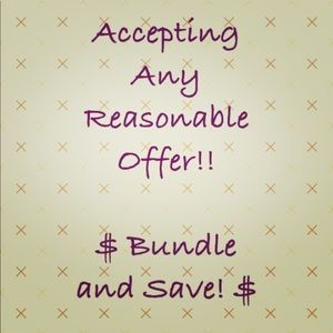 Accessories - Bundle and Save 💵