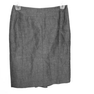 Silver Ann Taylor skirt