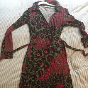 Diane von Furstenberg iconic wrap dress
