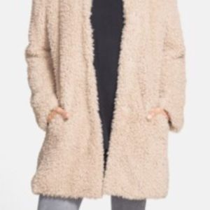 Kenneth Cole plush faux-fur coat, great condition!