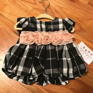 NWT 3/6M Pippa and Julie Party Dress
