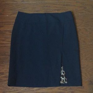 Express Pencil Skirt with Slit