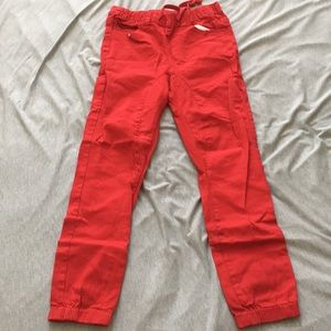 Other - Red Joggers (Small)