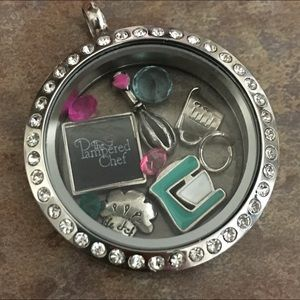 Jewelry - Floating Locket Personalized by YOU! Charms Incl.