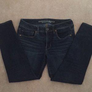 American Eagle super skinny jeans size 6