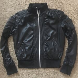 Black Moto Type Jacket