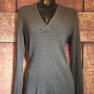 INC Large V Neck Sweater