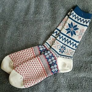 Accessories - Warming fair isle socks