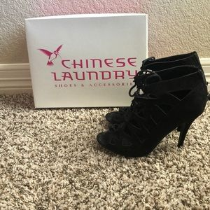 """Chinese Laundry """"Z Lady Day"""" lace up bootie"""