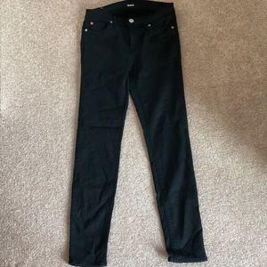 Hudson Ankle Krista Black Jeans