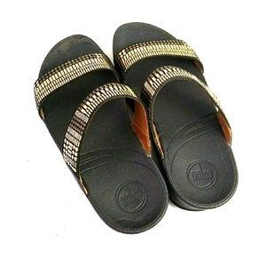FitFlop Wobbleboard Sole Slide Sandal