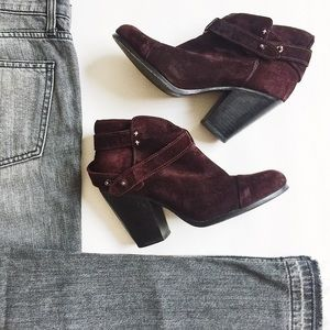 Rag and Bone Harrow Suede Ankle Boots