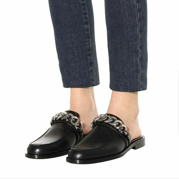 8dd24c83971d Givenchy Shoes - Givenchy Chain Leather Mules