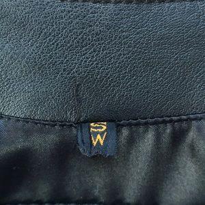 Harley-Davidson Jackets & Coats - Harley Davidson Leather Whipstitch Raw Edge Vest