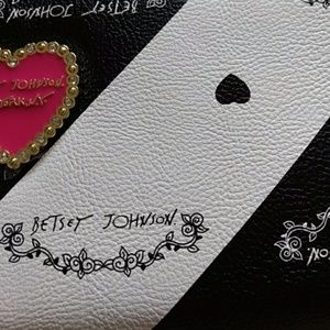 Betsey Johnson Black & White Wallet