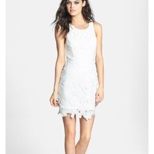 ASTR the label white lace dress